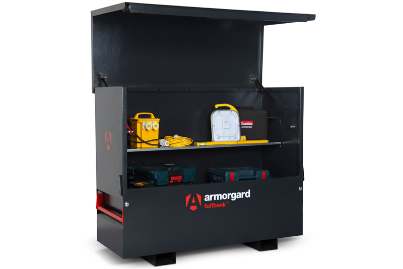 PRODUCT FOCUS: Armorgard TuffBank with PowerShelf
