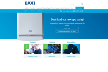 Baxi's online trade area gets a new look