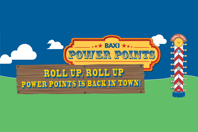 Baxi's Power Points promo packs a punch