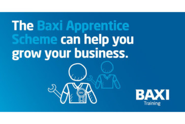 Baxi Apprentice Scheme funding… APPLY NOW!