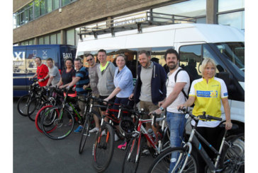 Baxi raises £3k in charity cycle