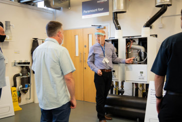 Baxi Heating reopens Commercial Training Academy in Warwick