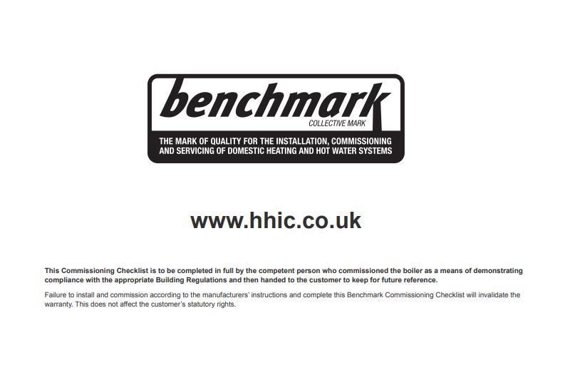 Updated Benchmark checklist unveiled
