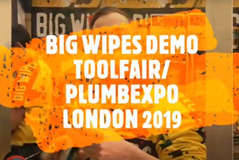 VIDEO DEMO: Big Wipes