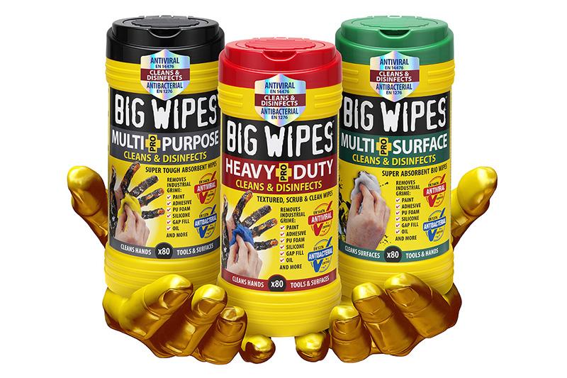 Big Wipes goes antiviral