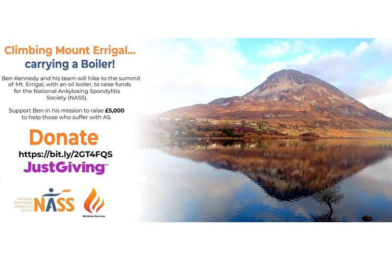 Bk Boiler Services has a mountain to climb!