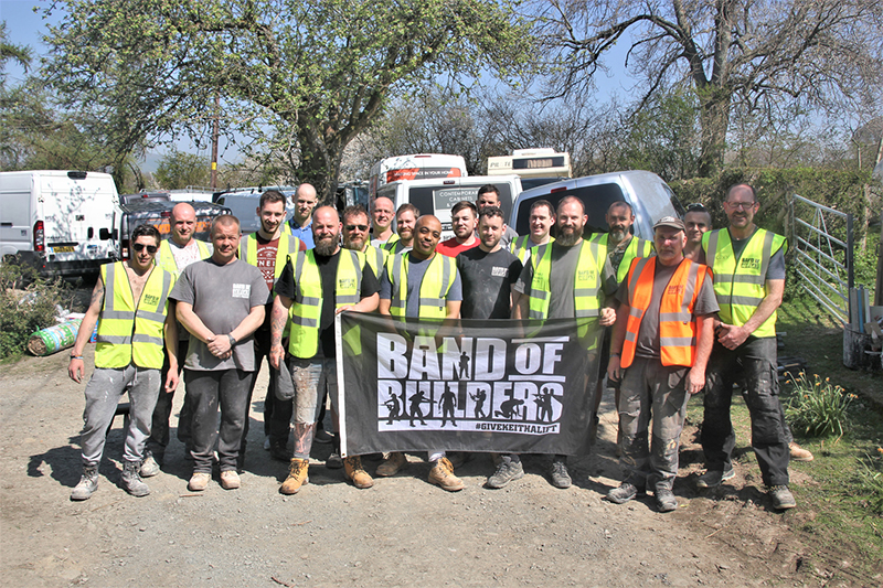 Band of Builders collaborates with DEWALT to help support tradespeople