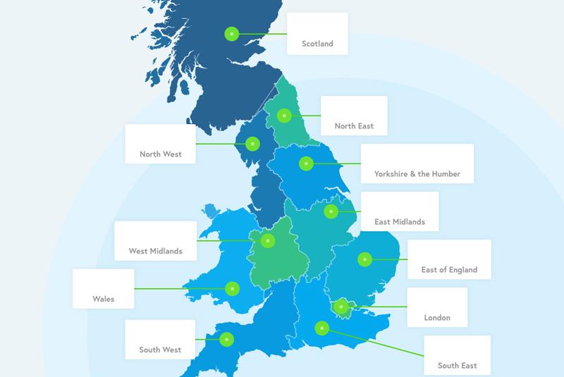 REVEALED: The UK's boiler breakdown hotspots