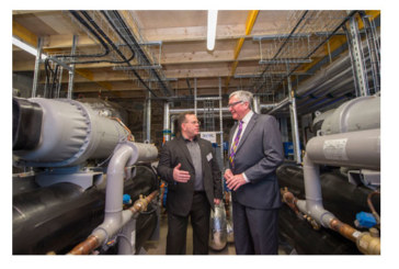 UK's first heat from sewage scheme launched at Borders College