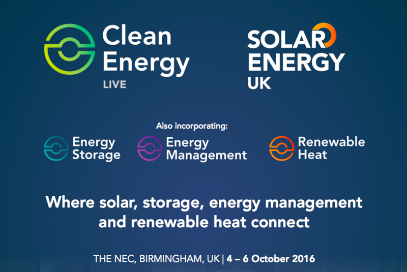 Clean Energy Live to take place this Autumn