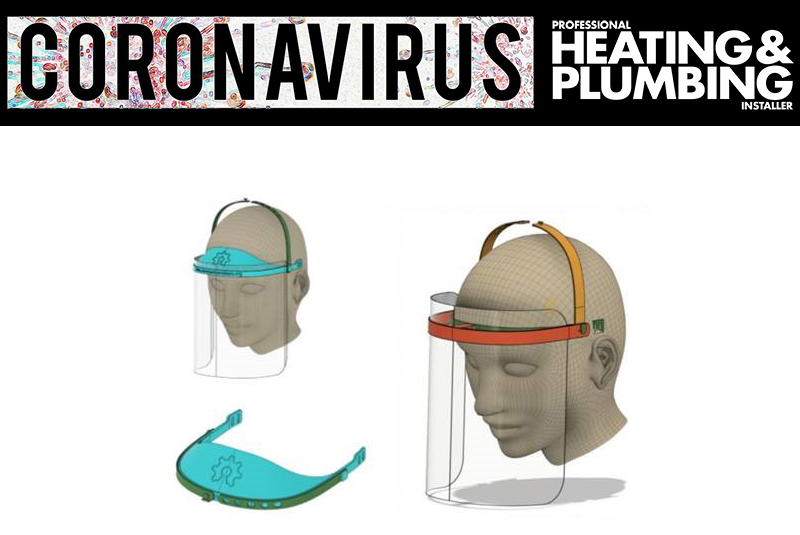 Baxi Heating making masks to help fight Coronavirus