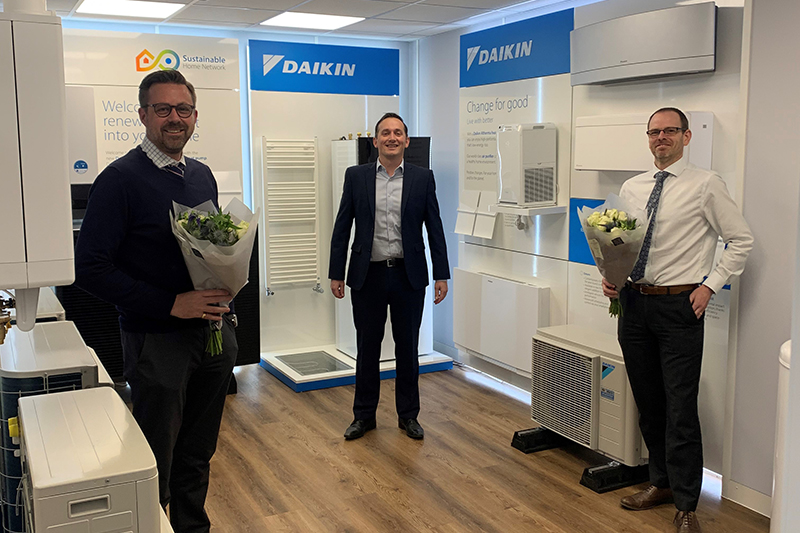 Daikin opens first Sustainable Home Centre in East Anglia