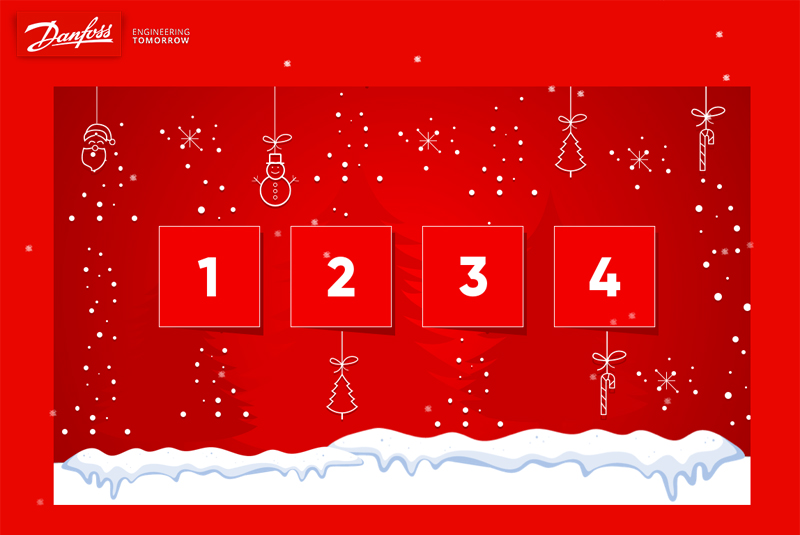 The Danfoss advent calendar returns!