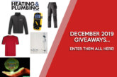 DECEMBER GIVEAWAYS: Enter them all here!