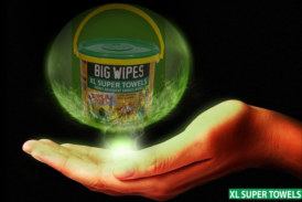 GIVEAWAY: Big Wipes XL Multi-Surface wipes