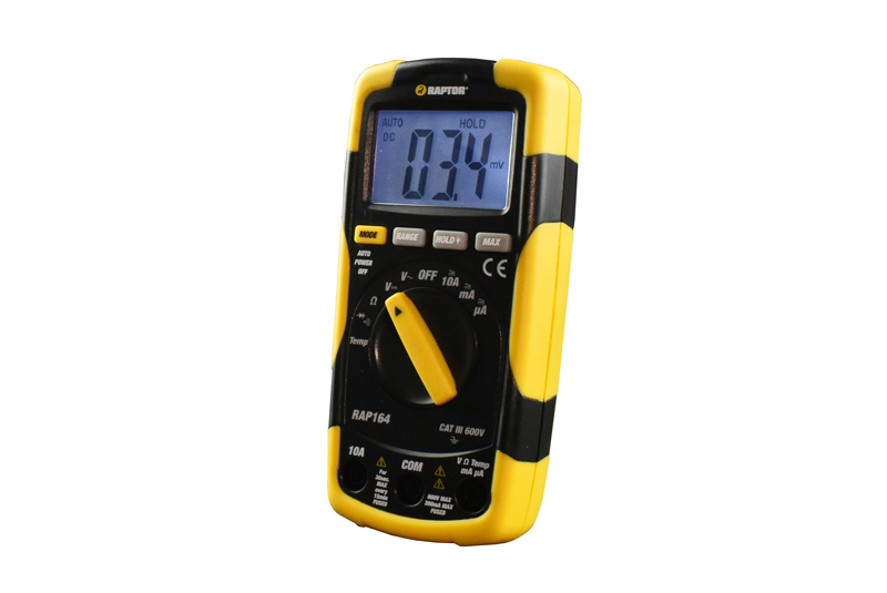 GIVEAWAY: Raptor Digital multimeter
