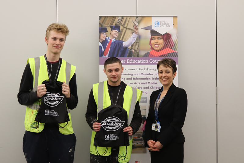 Dickies partners with City of Bristol College to inspire the next generation