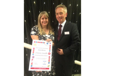 Charity recoginition for Dimplex's 'outstanding' fundraiser