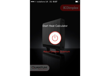 Easier sizing with Dimplex Quantum Heater app