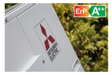 A++ for Ecodan renewable heating range