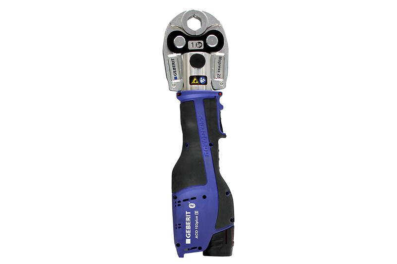 Geberit   ACO 103Plus pressing tool enhancement