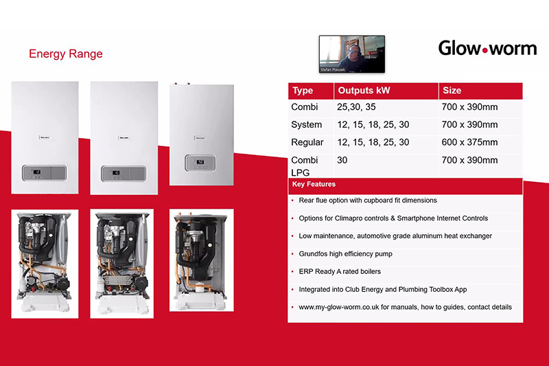 TRAINING FOCUS: Glow-worm's online offering for installers
