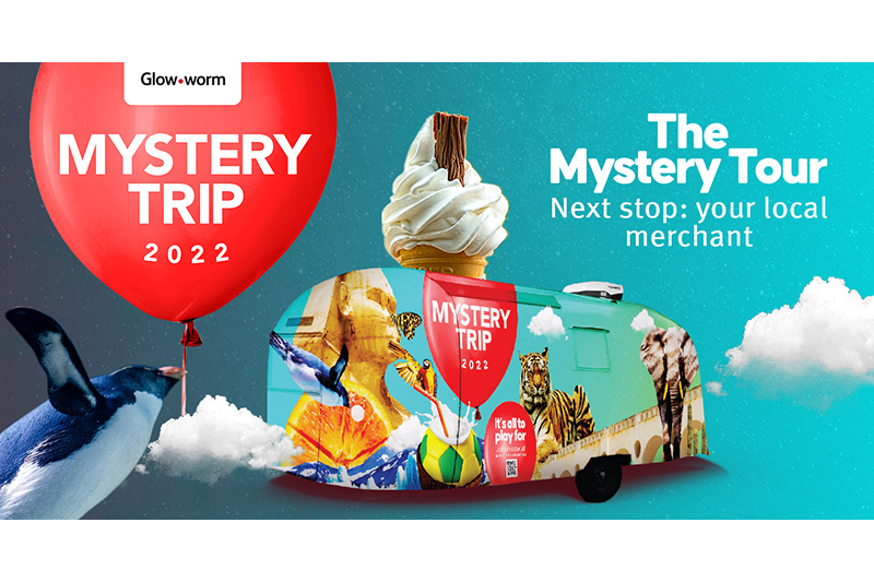 Glow-worm's Mystery Tour is back!