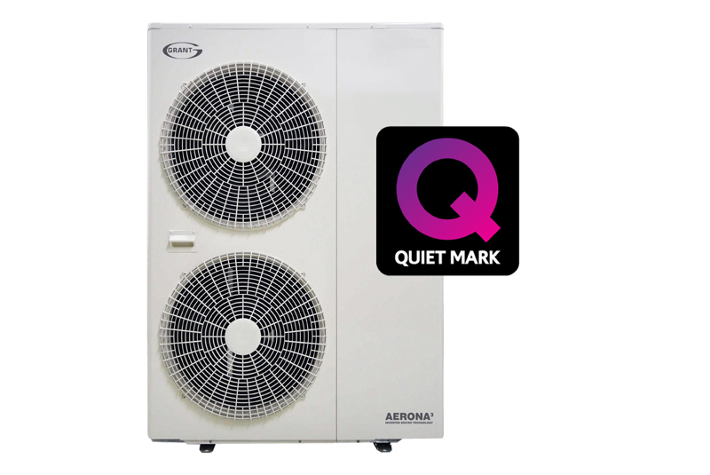 Quiet Mark for Grant Aerona³ R32 13 and 17kW