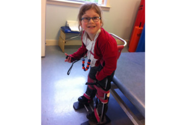 Grant makes donation to help eight-year old Lucy