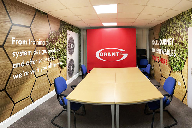 New facility for online courses at Grant UK's Training Academy