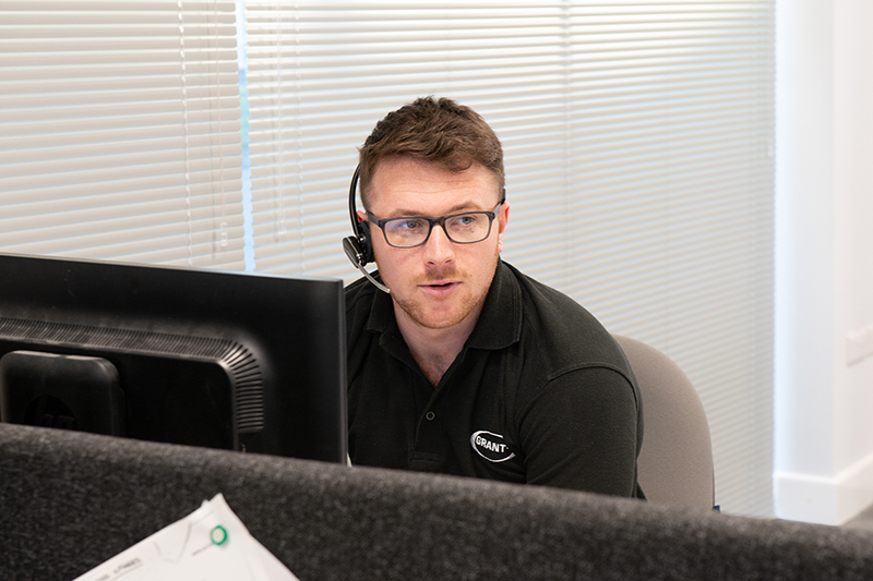 Grant UK's technical and customer service departments extend support hours