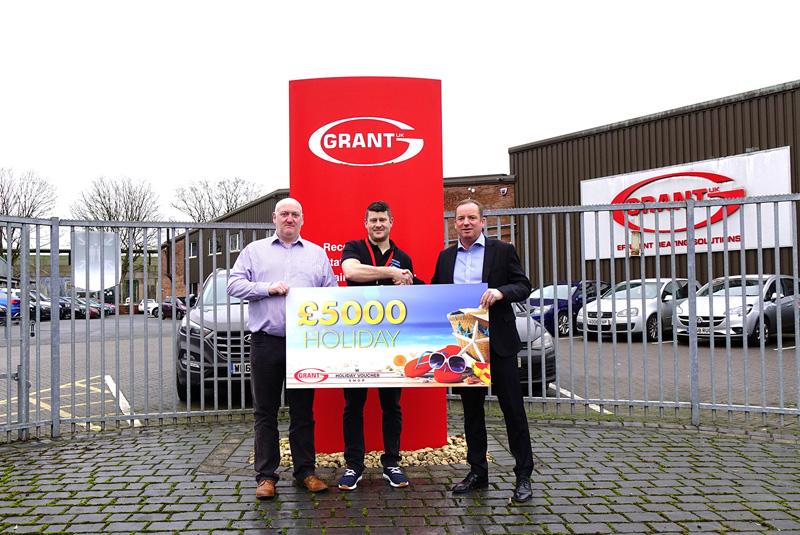 Big success for Grant UK's Big G1 Giveaway