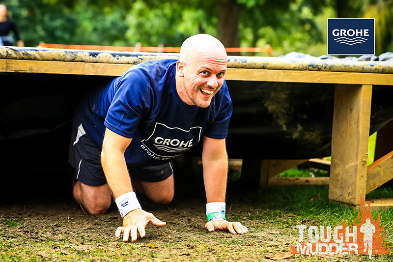 COMPETITION: WIN a Tough Mudder Challenge entry pass with GROHE