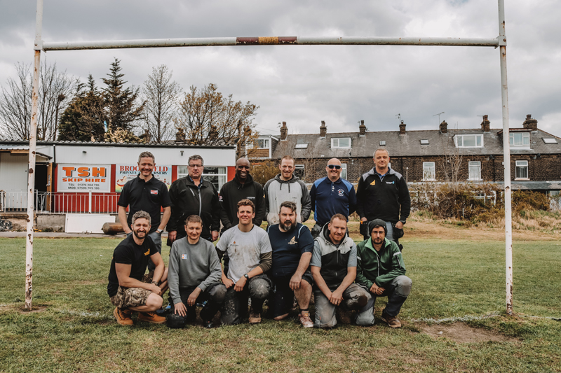 Heat for Good's rugby club conversion