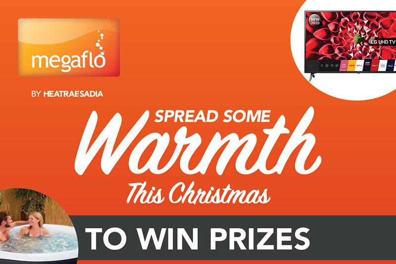 #SpreadWarmth with Megaflo this Christmas