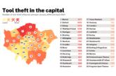 £17.5 million of tools stolen in London in 2020