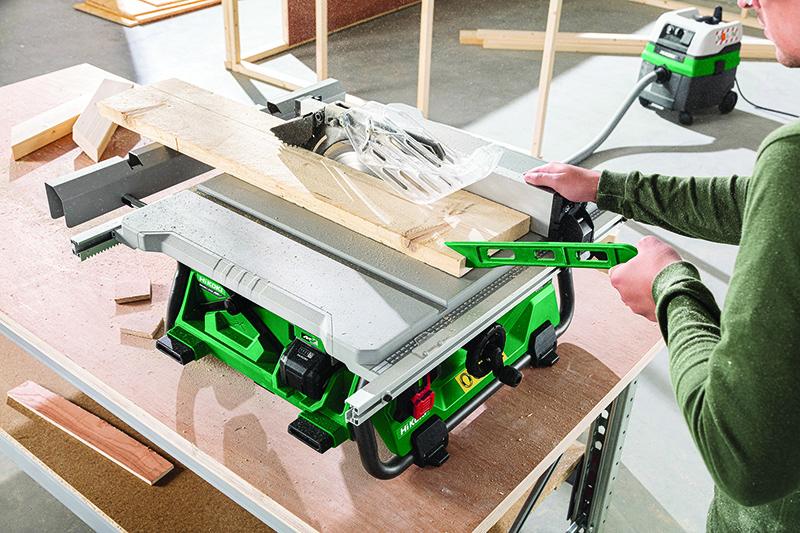 HiKOKI Power Tools | C3610DRJ cordless table saw
