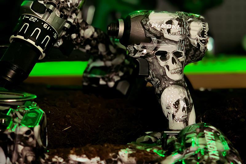 HiKOKI Power Tools   Limited Edition SKULL 'Catacomb' range