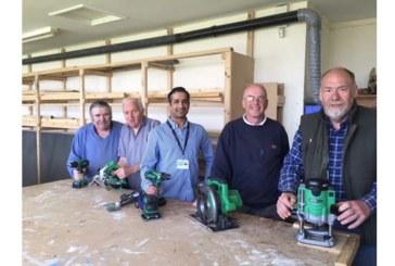 Hitachi sponsors 'Men in the Workshop'