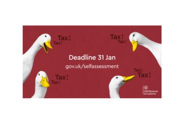 Self Assessment tax deadline looms