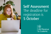 Self Assessment registration deadline details