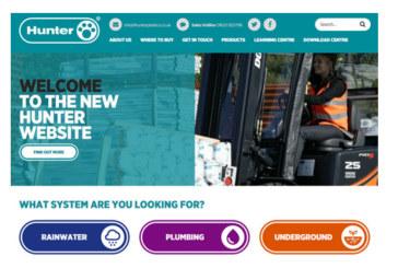 Hunter Plastics website undergoes transformation