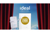 £1,000 cashback available from Ideal Heating on Max installations