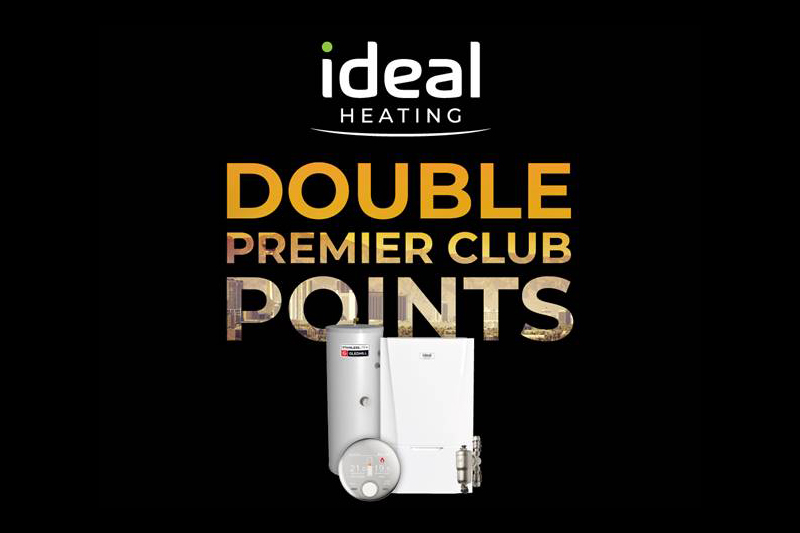 Double points for Ideal Heating Premier Club members until October 31st