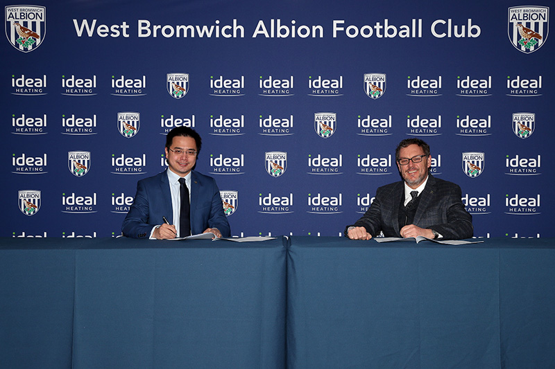Ideal renews West Brom sponsorship for another three years