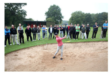 Ideal Standard tees off with Mel Reid for charity