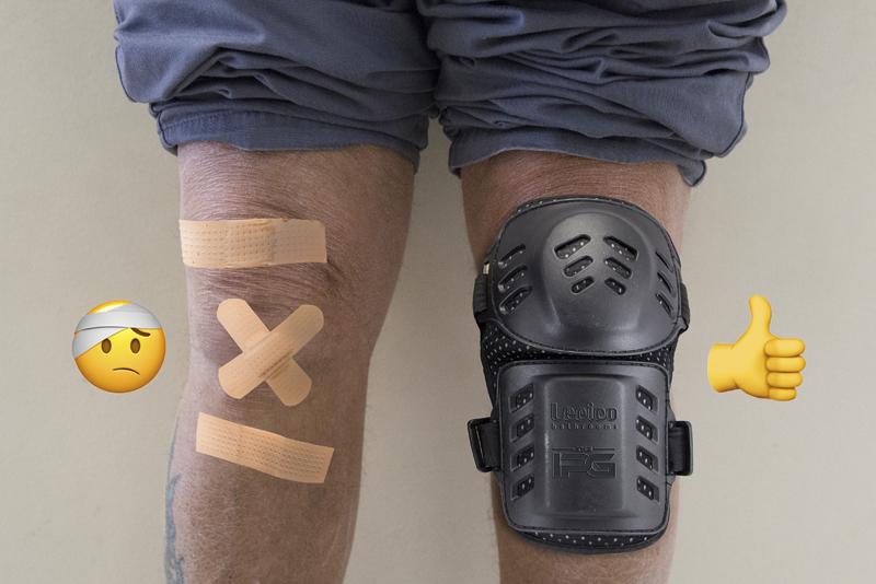 IPG kneepad giveaway