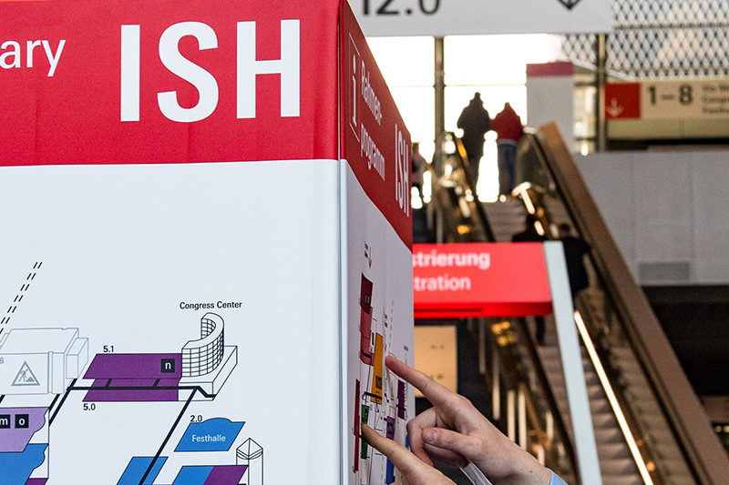 ISH digital: a comprehensive trade show programme for installers