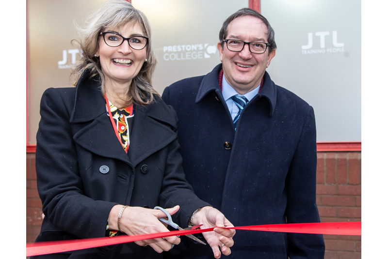 Partnership launched between Preston's College and JTL