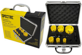 GIVEAWAY: Spectre 9-piece Plumber's Hole Saw set